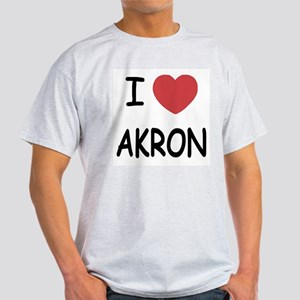 I heart akron Light T-Shirt