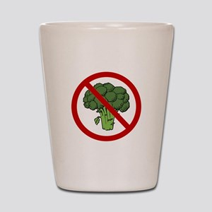 No Broccoli Shot Glass