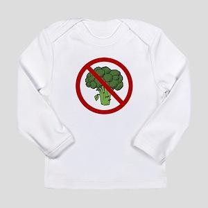 No Broccoli Long Sleeve Infant T-Shirt