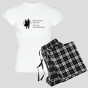 Square Dancers Never Die Women's Light Pajamas