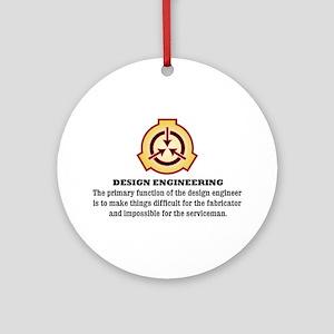 Design Engineering Ornament (Round)