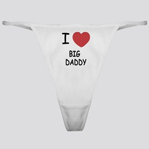 I heart big daddy Classic Thong
