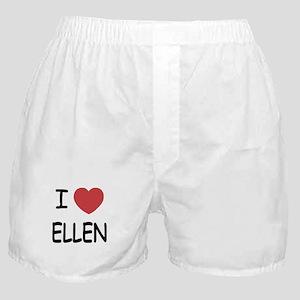 I heart ellen Boxer Shorts