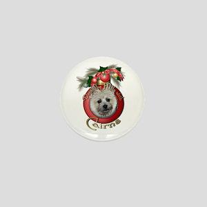 Christmas - Deck the Halls - Cairns Mini Button