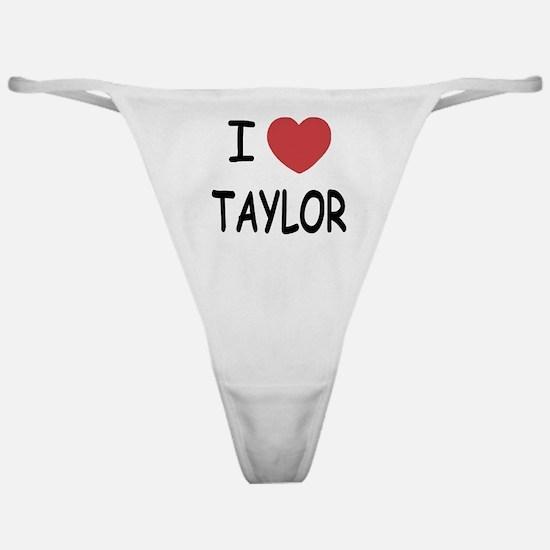 I heart taylor Classic Thong