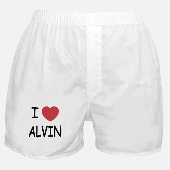 I heart Alvin Boxer Shorts