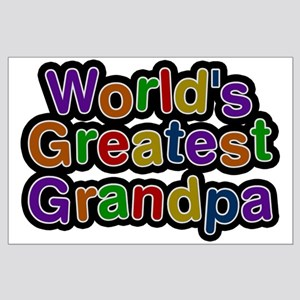 World's Greatest Grandpa Large Poster