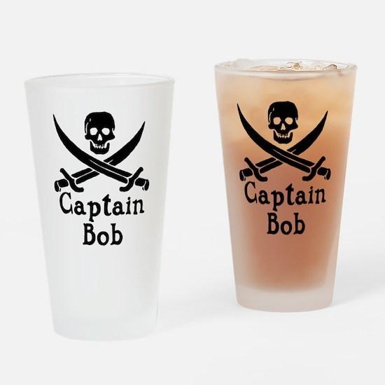 Captain Bob Drinking Glass