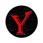 "Only Yes Means Yes Y-Circle 3.5"" Button (100"