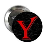 "Only Yes Means Yes Y-Circle 2.25"" Button"