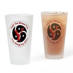 Only Yes Means Yes in BDSM Drinking Glass