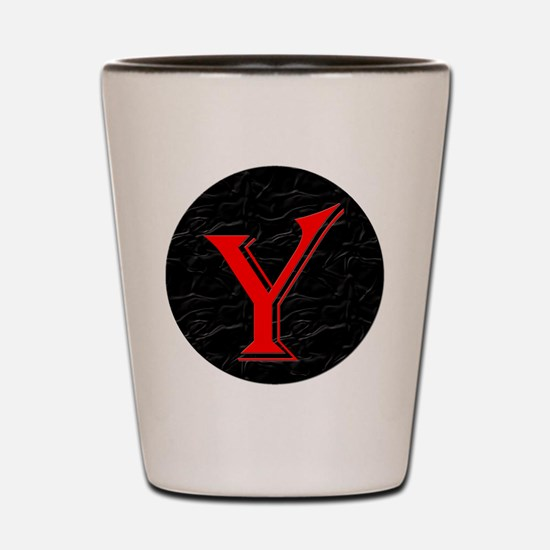 Only Yes Means Yes Y-Circle Shot Glass