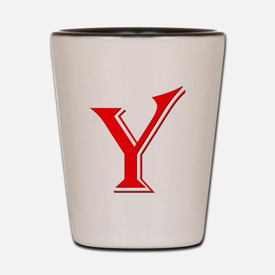 Y - Yes Means Yes Shot Glass