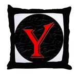 Only Yes Means Yes Y-Circle Throw Pillow