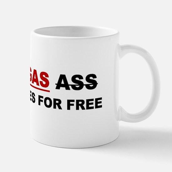 """GRASS """"GAS"""" ASS Mug"""