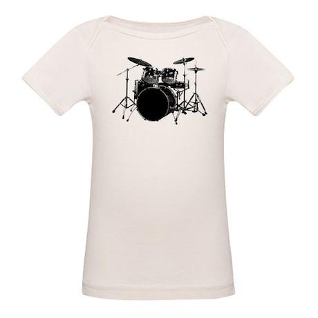 Drums Organic Baby T-Shirt
