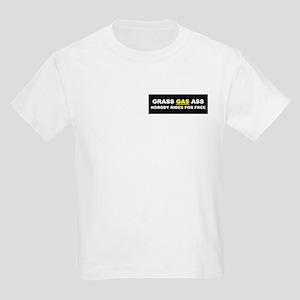"""GRASS """"GAS"""" ASS Kids T-Shirt"""