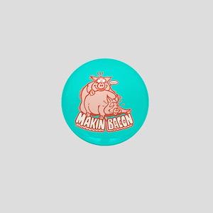 Makin Bacon Pigs Mini Button