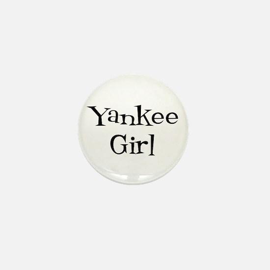 Yankee Girl Mini Button