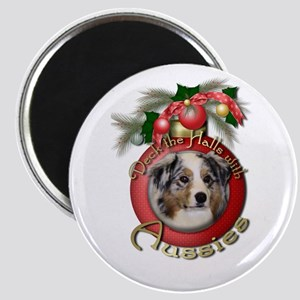 Christmas - Deck the Halls - Aussies Magnet