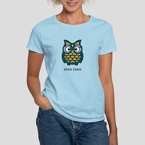Retro Owl Women's Light T-Shirt