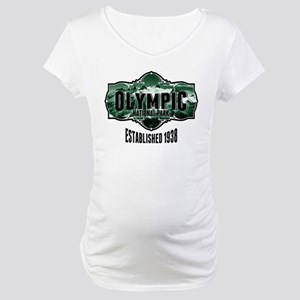 Olympic Forest Green Maternity T-Shirt