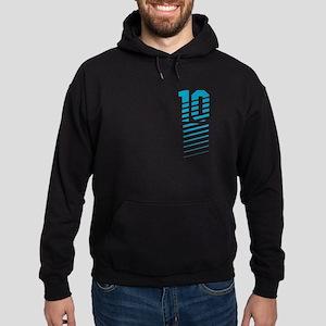 Sports Fashion NUMBER TEN Hoodie (dark)