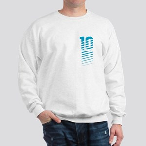 Sports Fashion NUMBER TEN Sweatshirt