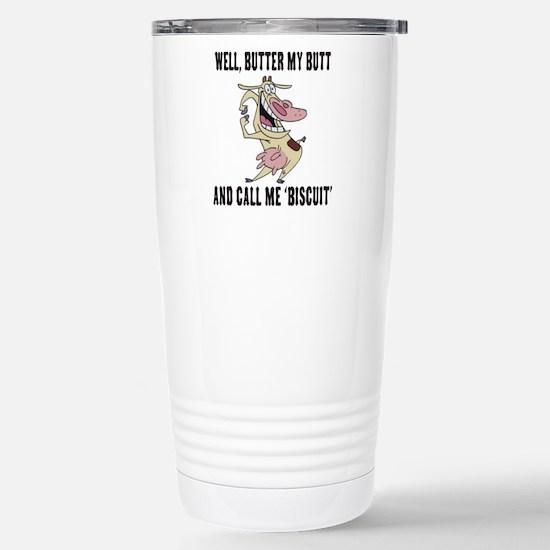 Butter Butt Stainless Steel Travel Mug