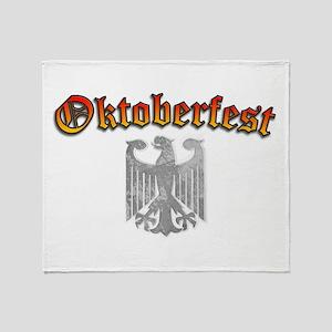 Oktoberfest German Deutsch Throw Blanket