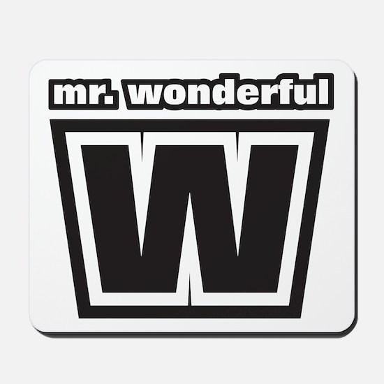 Mr. Wonderful Mousepad