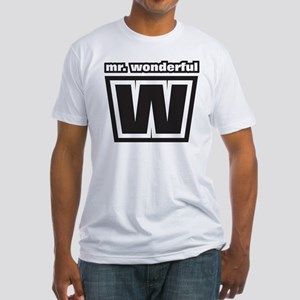 Mr. Wonderful Fitted T-Shirt