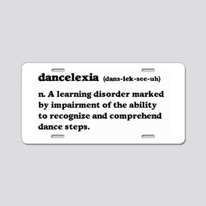 Dancelexia Aluminum License Plate