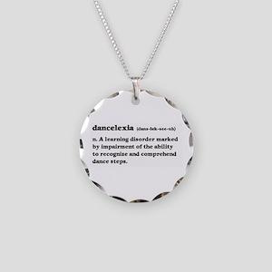 Dancelexia Necklace Circle Charm