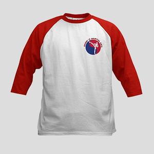 Kickin' It Solid Yin Yang Kids Baseball Jersey