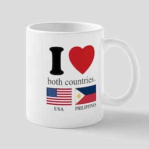 USA-PHILIPPINES Mug