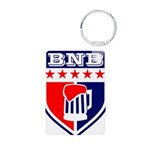 Bad News Beers Aluminum Photo Keychain