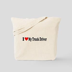I Heart My Truck Driver Tote Bag