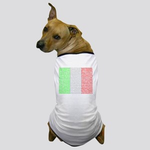 Italian Cities Flag Dog T-Shirt