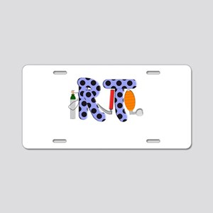 Respiratory Therapy 9 Aluminum License Plate