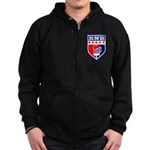 Bad News Beers Zip Hoodie (dark)