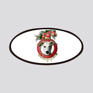 Christmas - Deck the Halls - Whippets Patches
