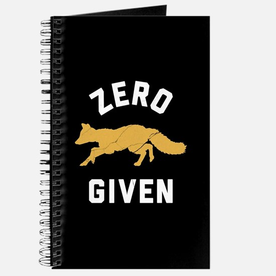 Zero Fox Given 2 Journal