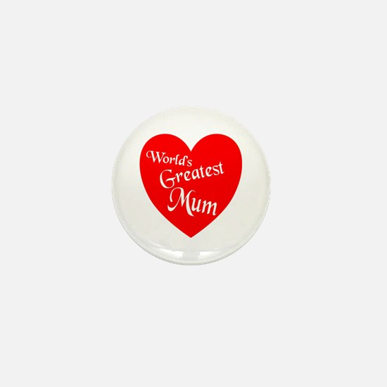 Cute Number one mom Mini Button