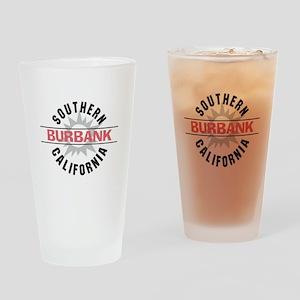 Burbank Californa Drinking Glass