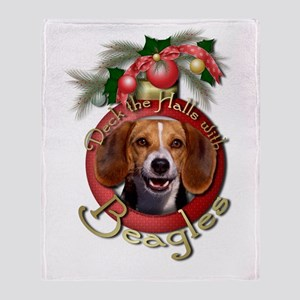 Christmas - Deck the Halls - Beagles Stadium Blan