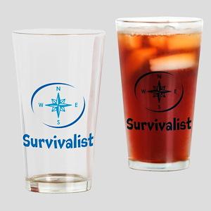 Survivalist Drinking Glass