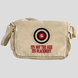 Target Practice Funny Messenger Bag