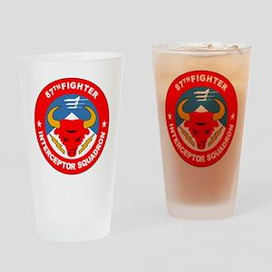 87th Interceptor Squadron Drinking Glass