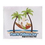 Cool Mexican T-Shirts Throw Blanket